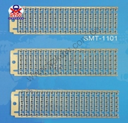 SMT row splice copper buckle